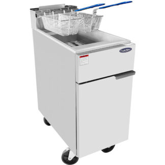 Atosa Heavy Duty 40lb S/S Commercial Deep Fryer (ATFS40)