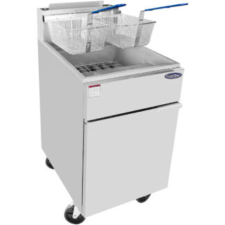 Atosa Heavy Duty 75lb S/S Commercial Deep Fryer (ATFS75)
