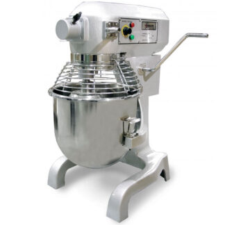 Omcan 20-Quart Baking Mixer with Guard and Timer (17835)