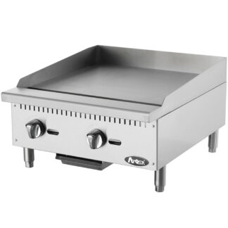 "Atosa Cook Rite Heavy Duty 24"" Manual Griddle (ATMG24)"