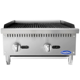 Atosa Cook Rite Heavy Duty 24″ Countertop Radiant Broiler (ATRC24)