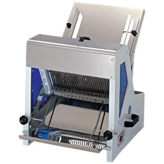 """Omcan Bread Slicer with 0.25 HP Motor and 1/2"""" Size (44247)"""