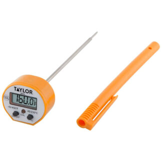Taylor Waterproof Digital Thermometer with Calibration (9842FDA)