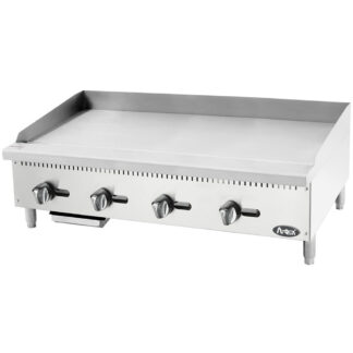 """Atosa Cook Rite Heavy Duty 48"""" Manual Griddle (ATMG48)"""