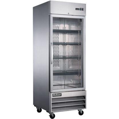 Reliant 23 cu. ft. Single Glass Door Reach-In Freezer (RX23GF)