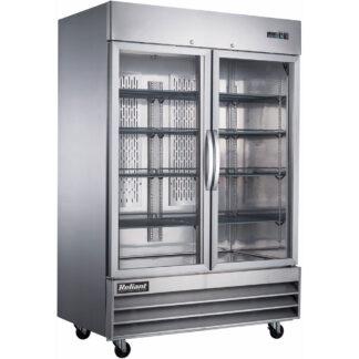 Reliant 49 cu. ft. Two Glass Door Reach-In Freezer, S/S Exterior (RX49GF)