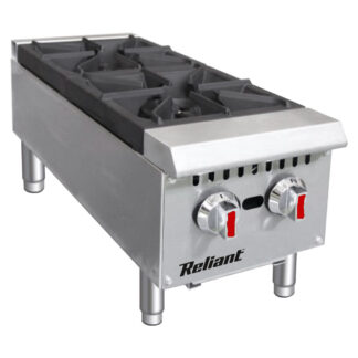 """Reliant Heavy-Duty S/S 12"""" Gas Hotplate, NG (GHP2LNG)"""