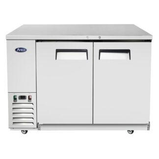 "Atosa 48"" Back Bar Solid Door Cooler (MBB48GR)"