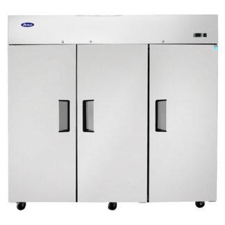 Atosa 65 cu. ft. Three Solid Door Upright Freezer, Top Mount (MBF8003GR)